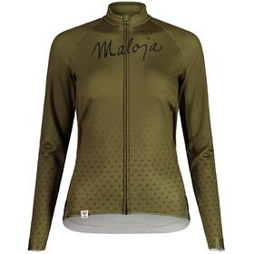 Maloja HaslmausM. 1/1 Long Sleeve Bike Jersey Women, moss